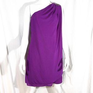 JS Boutique One-Shoulder Dress